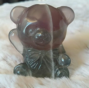 Fluorite teddy bear