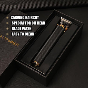 Best Gift For Man Limited Sale 40% OFF -Pro T-Outliner Slicked Back Cordless Trimmer Hair Clipper Machine