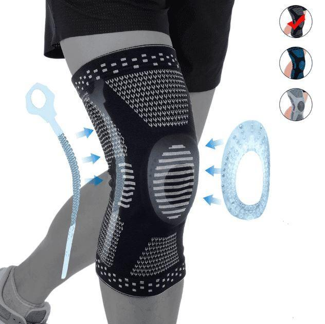 PowerKnee™ Silicone Knee Sleeves