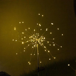 Holiday Promotion!-Waterproof Solar Fireworks Lamp(Buy More Save More)
