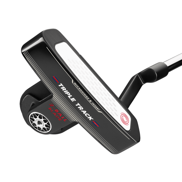 ODYSSEY TRIPLE TRACK 2-BALL BLADE PUTTER