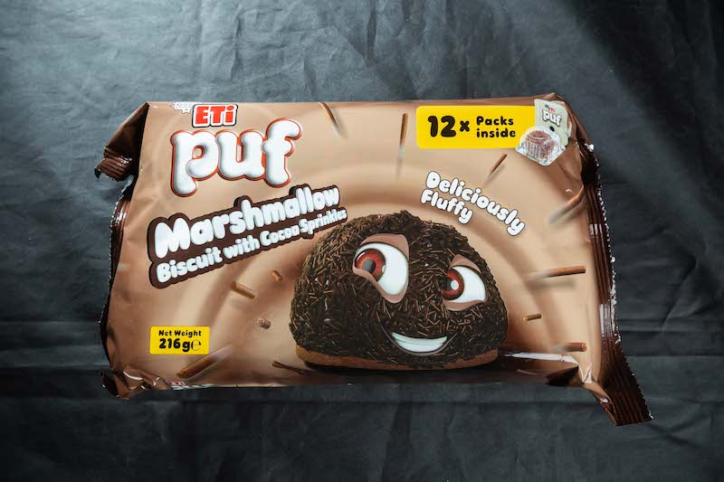 ETI Puf Marshmellow Biscuit with Cocoa