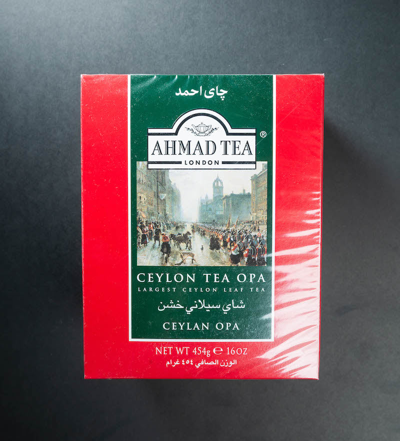 Ahmad Tea Ceylon Tea Opa (Red)