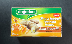 Dogadan Ginger Herbal Tea with Honey