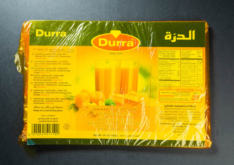 Durra Dried Apricot Paste