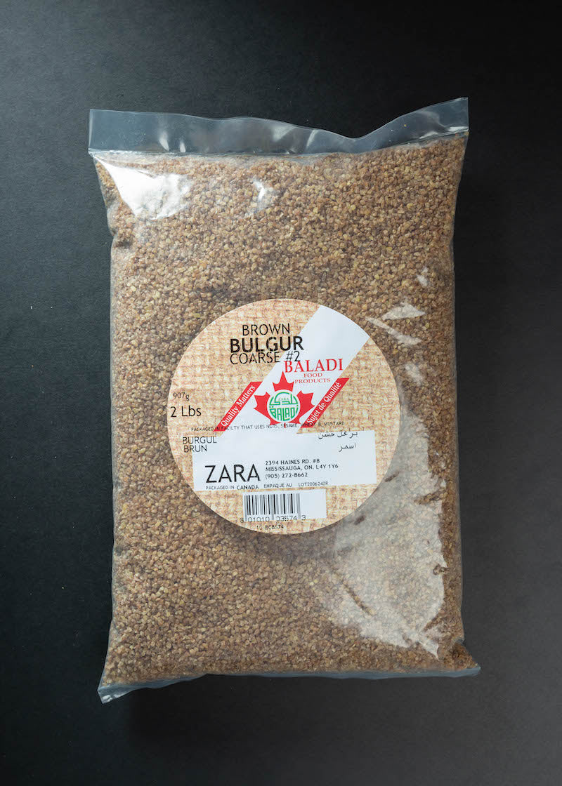 Baladi Brown Bulgur Coarse # 2
