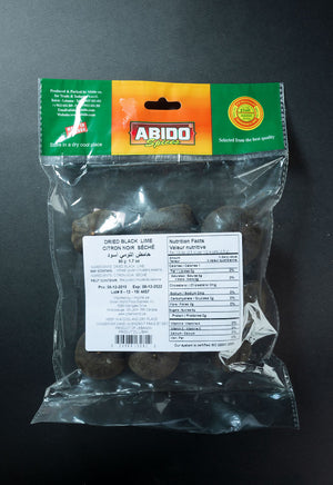 Abido Dried Black Lime