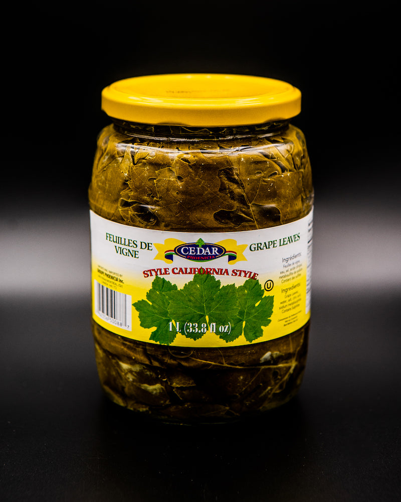 Cedar Grape Leaves