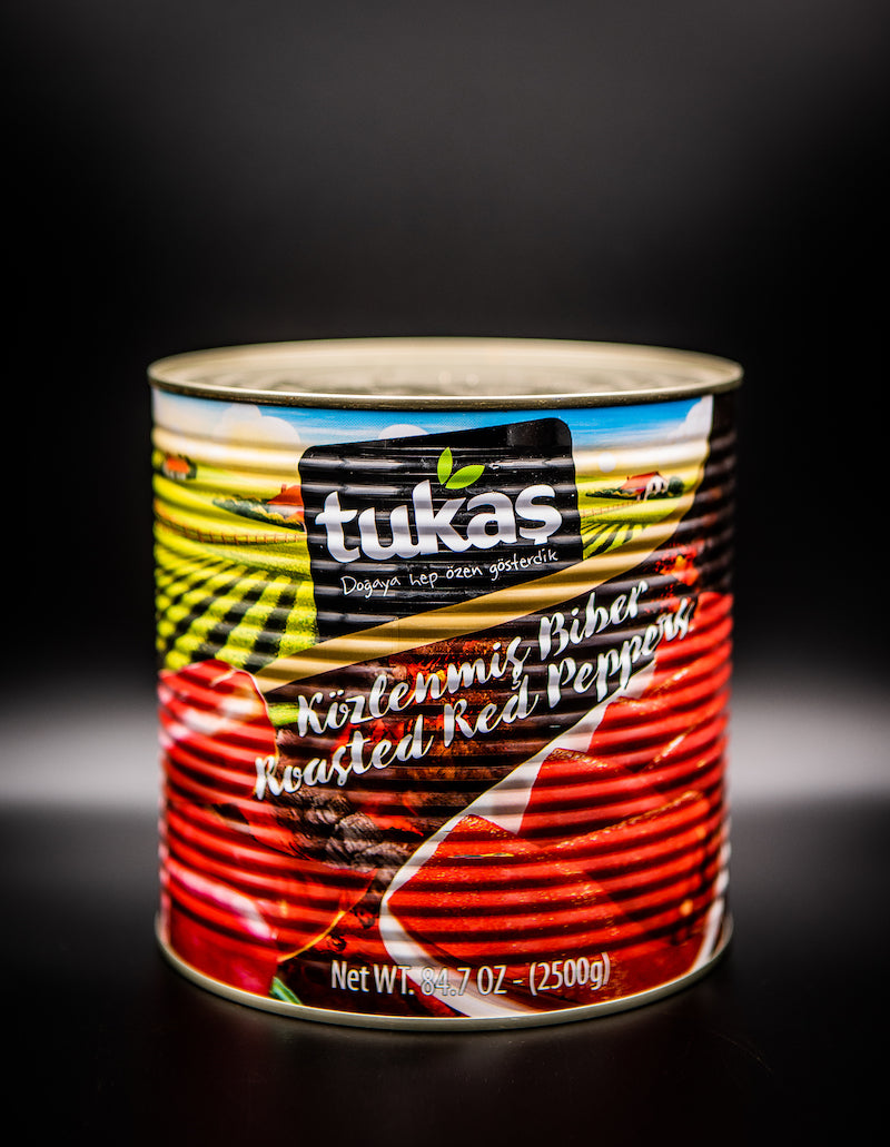 Tukas Roasted Red Peppers