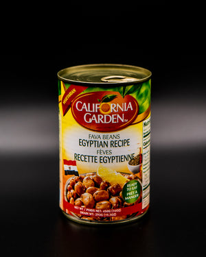 California Garden Fava Beans Egyptian Recipe