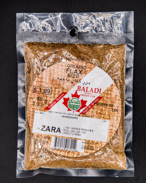 Baladi Ground Flax Seed