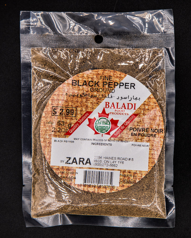 Baladi Fine Ground Black Pepper