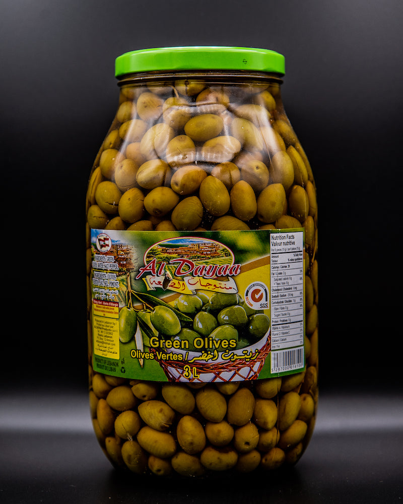 Al Dayaa Green Olives