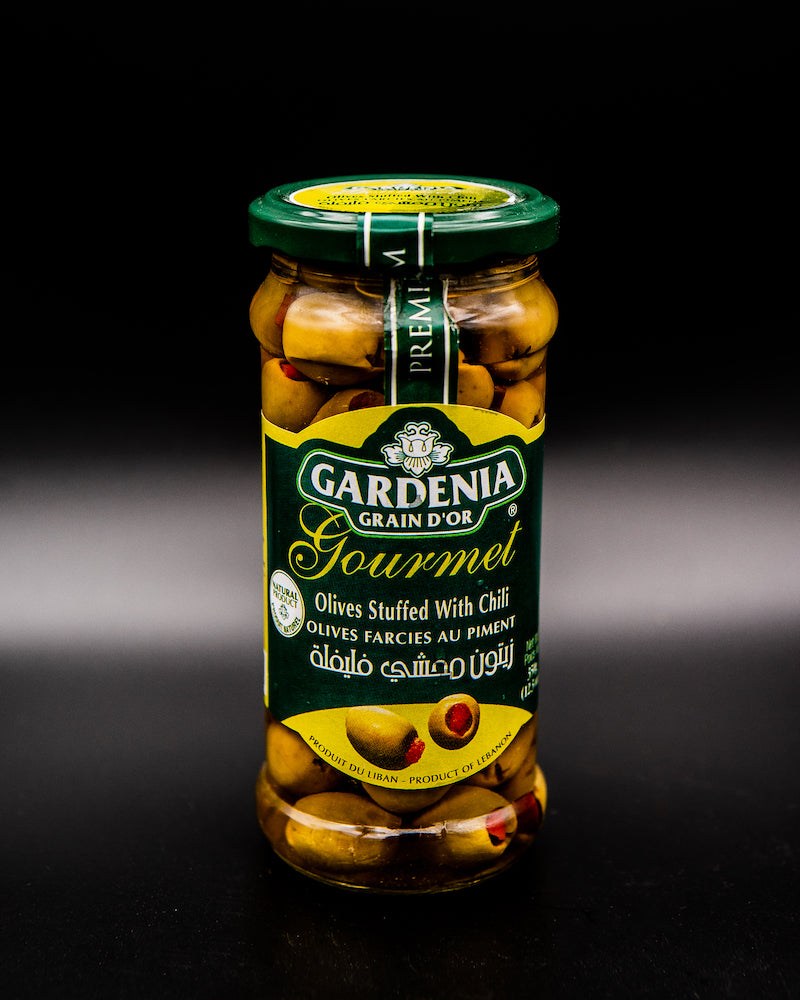 Gardenia Olive Stuffed with Chili