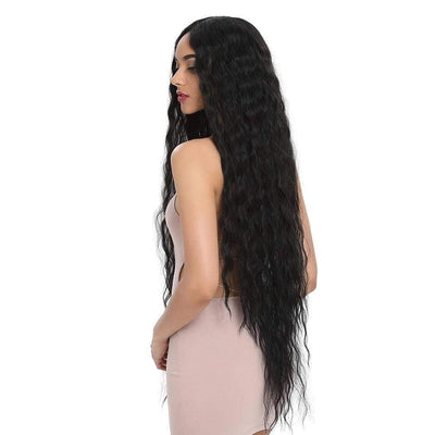 Long Curly Synthetic Lace Wigs, Cosplay Blonde Ombre Lace Front Wig - Affordable Luxury lace Wigs & Bundles | Make Up & Accessories online! Total Body UK