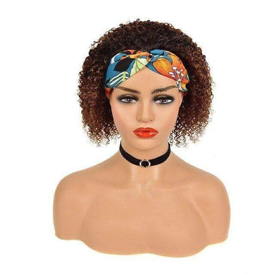 Jerry Curl Brazilian Headband Wig - Affordable Luxury lace Wigs & Bundles | Make Up & Accessories online! Total Body UK