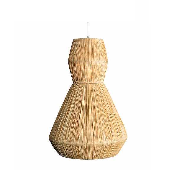 Raffia Wrap Asanda Natural Pendant Light - Lighting.co.za