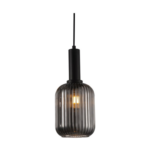 Athina Clear | Amber | Smoke Cut Glass Pendant Light - Lighting.co.za