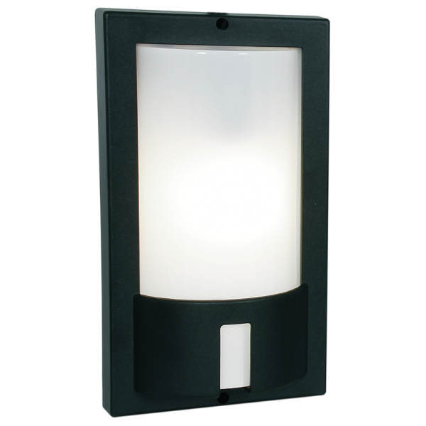 Box Outdoor Black Wall Light - Lighting.co.za