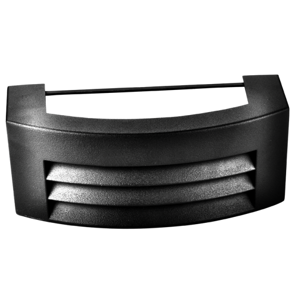 YON GRID BLACK OUTDOOR WALL LIGHT - Lighting.co.za