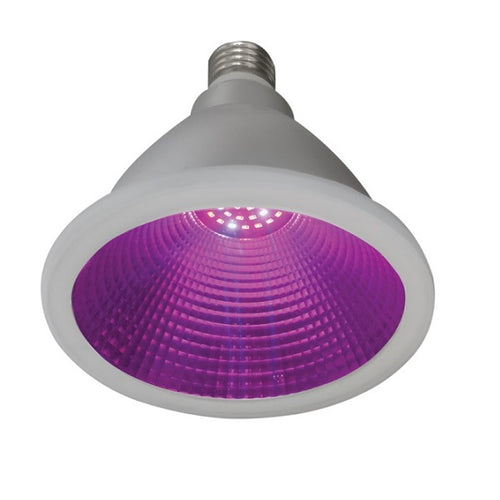 LED PAR38 Grow Light Bulb Red And Blue Wavelength IP65 Non Dim - Lighting.co.za