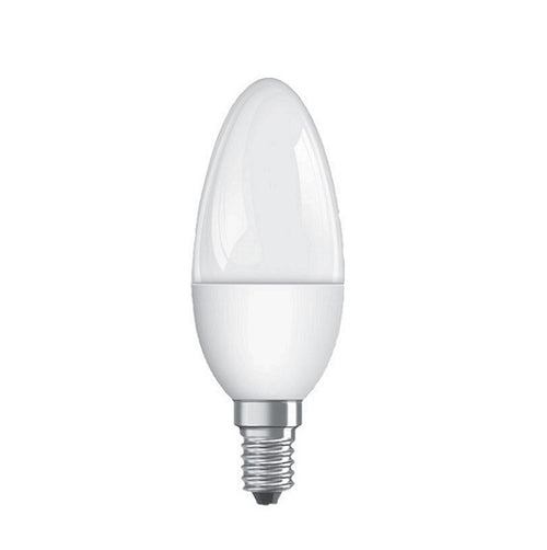 E14 Candle LED Opal 5W 3000K | 4000K Non Dim B - Lighting.co.za