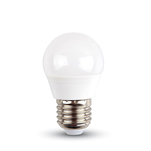 E27 G45 LED Opal Golf Ball 5W 3000K | 4000K Non Dim B - Lighting.co.za