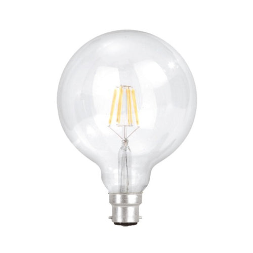 B22 G125 Clear LED Filament 9W 4000K Dimmable B - Lighting.co.za