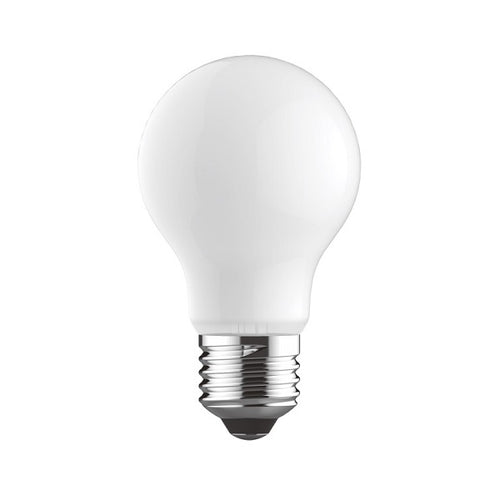 E27 LED A60 Opal Bulb 8W 4000K Dim B - Lighting.co.za
