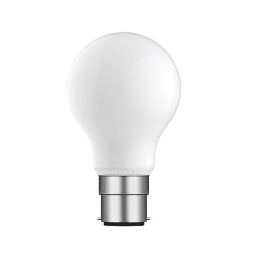 B22 LED A60 Opal Bulb 8W 4000K Dimmable B - Lighting.co.za