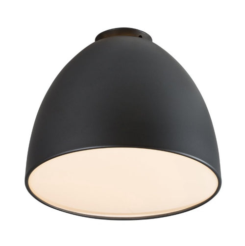 Large Ascari LED Black Dome Ceiling Light - Lighting.co.za