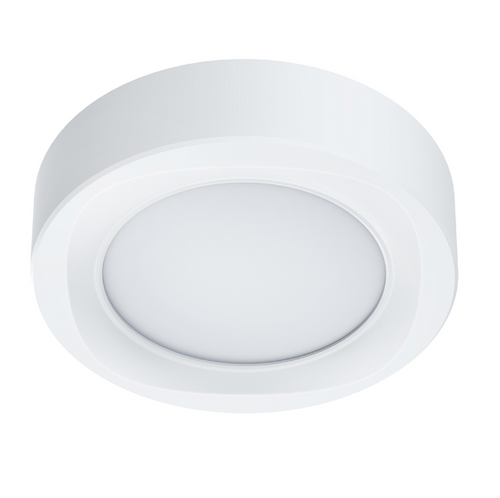 NORDEN 6W 12W 18W LED WHITE CEILING LIGHT 3 SIZES - Lighting.co.za