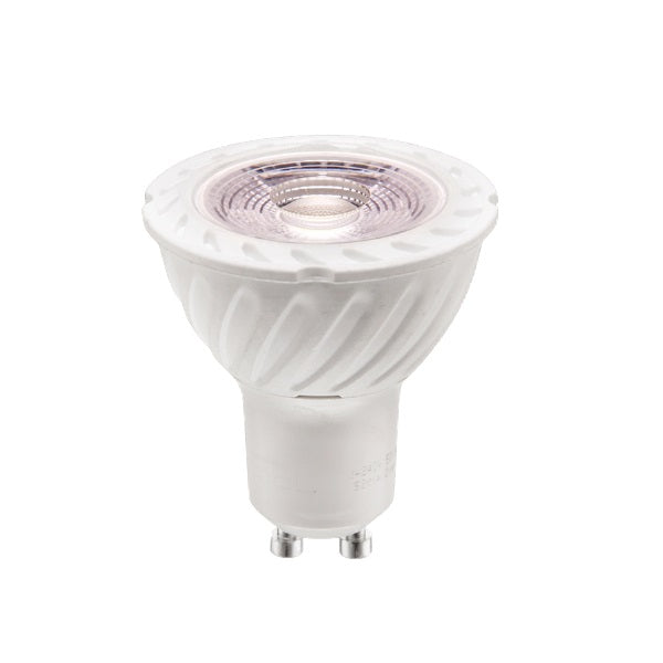 GU10 LED 7W COB 3000K 550lm Dim K - Lighting.co.za