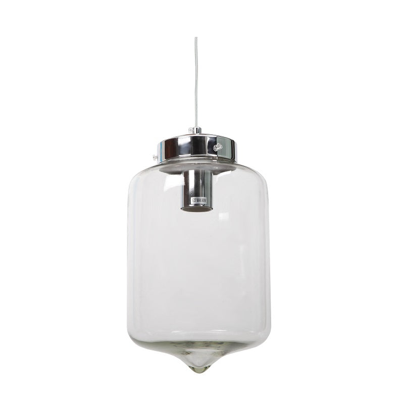 Lighthouse Lantern Amber | Clear | Smoke Glass Jar Pendant Light - Lighting.co.za