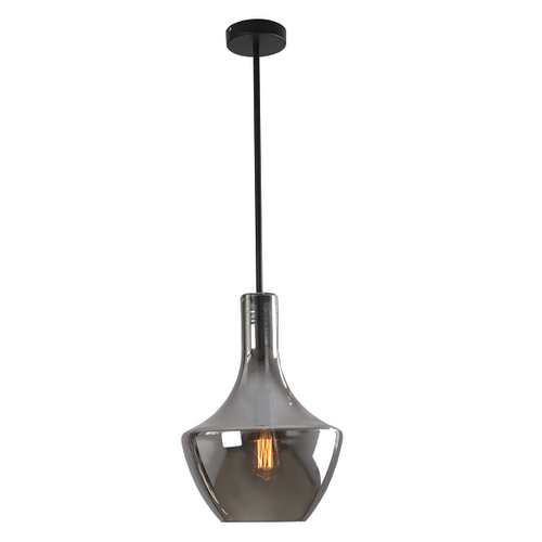 Contour Large Clear | Smoke | Amber Glass Pendant Light - Lighting.co.za