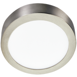 ODEN LED ROUND CHROME CEILING LIGHT 2 SIZES - Lighting.co.za