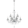 ZITA CHROME AND CLEAR 3 | 5 | 9 LIGHT CHANDELIER - Lighting.co.za