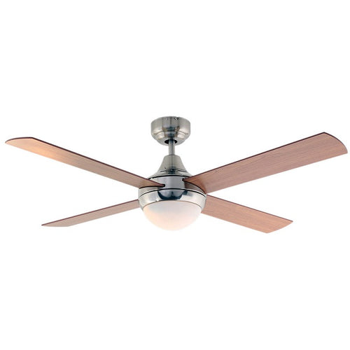 Twister 4 Blade Natural Wood Ceiling Fan - Lighting.co.za