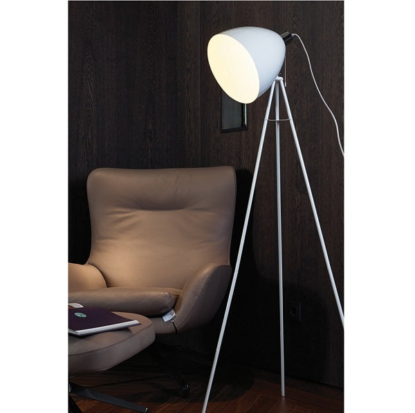 Don Diego White Tripod Floor Lamp - Lighting.co.za