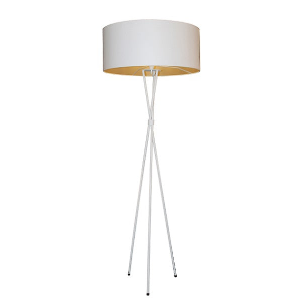 Plain Tripod Floor Lamp 3 Options - Lighting.co.za