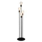 Atom Black 4 Light Multi Level Floor Lamp - Lighting.co.za