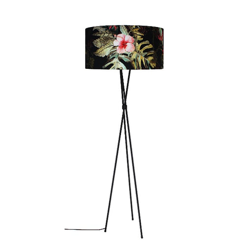 HIBISCUS TRIPOD FLOOR LAMP - Lighting.co.za