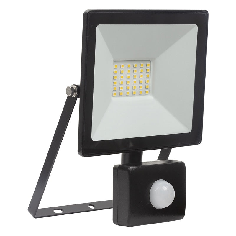 Floodlight 20W|30W LED With Sensor 4000K - Lighting.co.za