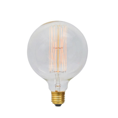 E27 G125 Carbon Filament Clear|Amber|Smoke Bulb Dim E - Lighting.co.za