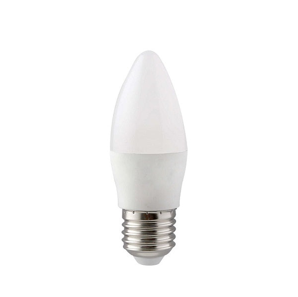 E27 Candle LED Opal 7W 3000K | 4000K Non Dim E - Lighting.co.za