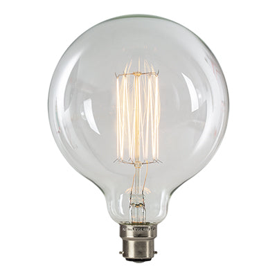 B22 G125 Carbon Filament Clear Bulb E - Lighting.co.za