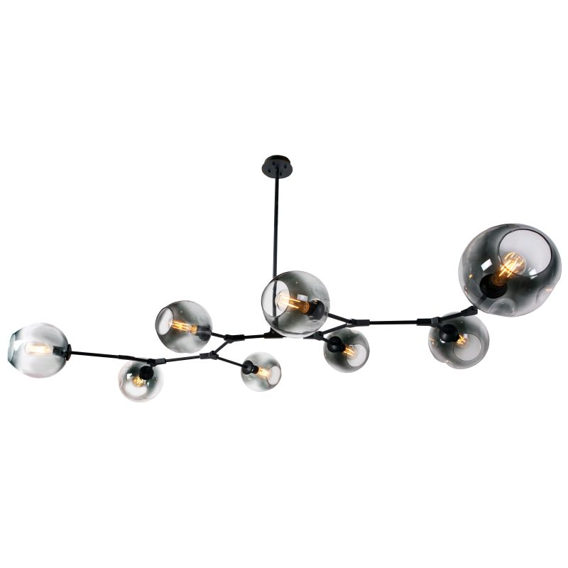 AMADOR CLASSIC BRANCH 8 LIGHT GLASS PENDANT - Lighting.co.za