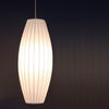 Bubble Papi Long White Fabric Pendant Light - Lighting.co.za