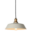 Vintage Barn Cream And Brass Pendant Light - Lighting.co.za