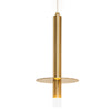Bosco LED Brass Slim Disk Pendant Light - Lighting.co.za